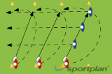 Passing Along The Line Drill Thumbnail