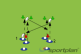 Continuous Passing off the floor 1PassingRugby Drills Coaching