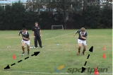 Race to the LineAgility & Running SkillsRugby Drills Coaching