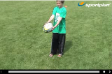 Kick and catch to selfPractices for JuniorsRugby Drills Coaching