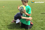Correct Tackling PositionPractices for JuniorsRugby Drills Coaching