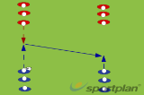 Speed, timing of run and talking in defenceSchoolRugby Drills Coaching