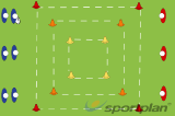 Three grids - Passing Alignment Drill Thumbnail