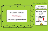 Lesson 3 LayoutTag RugbyRugby Drills Coaching