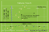 Tabata TouchTag RugbyRugby Drills Coaching
