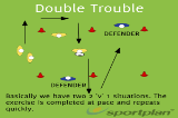 Double TroubleSevensRugby Drills Coaching