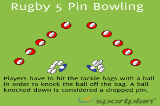 Rugby 5 Pin BowlingSevensRugby Drills Coaching