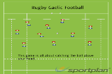 Rugby Gaelic Football Drill Thumbnail
