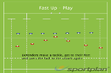 Fast Up - PlaySevensRugby Drills Coaching