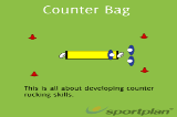 Counter BagSevensRugby Drills Coaching