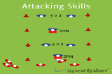 Attacking Skills version 2 Drill Thumbnail
