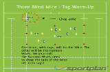 Three Blind Mice - Tag Warm-UpWarm UpRugby Drills Coaching