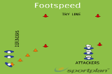 FootspeedSevensRugby Drills Coaching