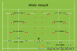 Wide AttackSevensRugby Drills Coaching