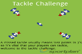 Tackle ChallengeSevensRugby Drills Coaching