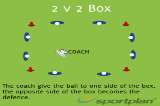 2 v 2 BoxSevensRugby Drills Coaching