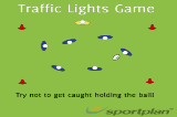 Traffic Lights GamePassingRugby Drills Coaching