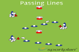 Passing LineszPassingRugby Drills Coaching
