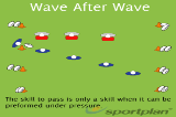 Wave After WavePassingRugby Drills Coaching