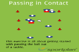 Passing in ContactPassingRugby Drills Coaching