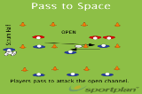Pass to SpacezPassingRugby Drills Coaching