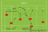 MAX 1Backs MovesRugby Drills Coaching