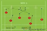 MAX 3Backs MovesRugby Drills Coaching