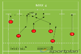 MAX 4Backs MovesRugby Drills Coaching
