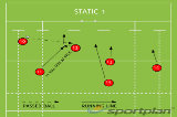 STATIC 1Backs MovesRugby Drills Coaching