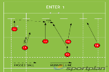 ENTER 1Backs MovesRugby Drills Coaching