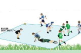Rugby PinballTacklingRugby League Drills Coaching