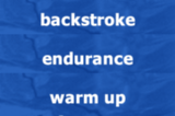 BackstrokeEnduranceSwimming Drills Coaching