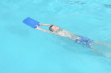 Kicking 1 float above head | Backstroke Drills