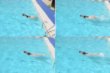 Butterfly leg action on backButterfly - TechniqueSwimming Drills Coaching