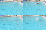 Butterfly leg full stroke from frontButterfly - TechniqueSwimming Drills Coaching