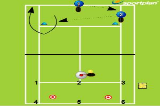 Alternating Shots Backhand to ForehandForehand & Backhand DrillTennis Drills Coaching