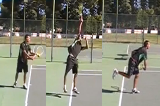 Stay stable after the serve Drill Thumbnail