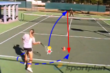 Center consistencyVolley DrillsTennis Drills Coaching