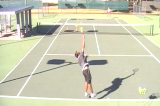 Big serve with drop shot winner Drill Thumbnail
