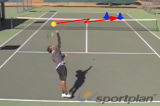 Different spin serves to the ad sideServe and ReturnTennis Drills Coaching