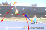 Serve and hit the low return Drill Thumbnail
