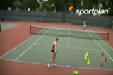 Return With CourageAttackingTennis Drills Coaching