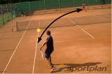 Keep the opponent on the backhand side Drill Thumbnail