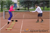 Catch the ball inside the ladderCoordination / Fun GamesTennis Drills Coaching