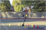Check opponent's backhandBackhand DrillsTennis Drills Coaching