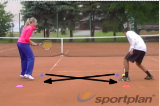 Ground-strokes rolling the ballForehand & Backhand DrillTennis Drills Coaching