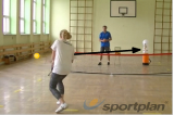 Backhand into wobble target Drill Thumbnail