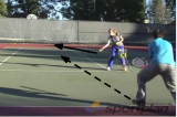 Backhand approach on the run | Backhand Drills