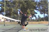 Hips to the netServe and ReturnTennis Drills Coaching