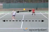 Touch move rally (backhand) Drill Thumbnail